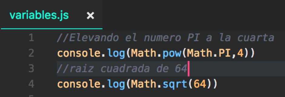que es una variable en programacion