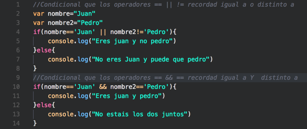 programacion else